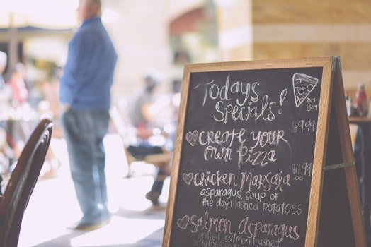 Free stock photo of handwritten, italian, marketing, menu