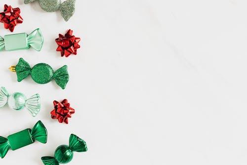 Foto stok gratis berkilau, busur, dekorasi