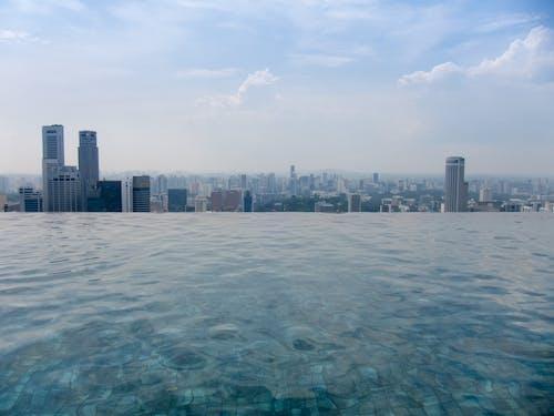 Free stock photo of infinity pool, marina bay sands, mbs