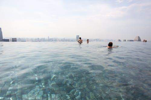 Free stock photo of cityscape, infinity pool, marina bay sands