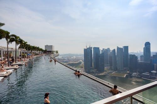 Free stock photo of cityscape, marina bay sands, skyline