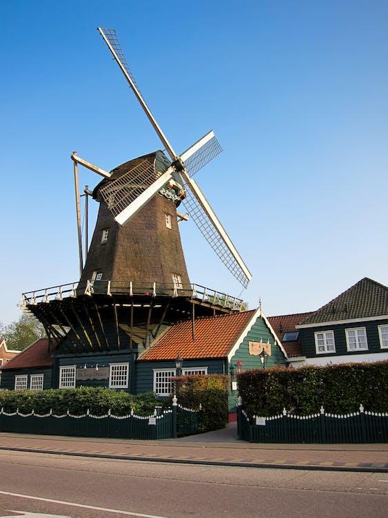 Free stock photo of holland, windmill