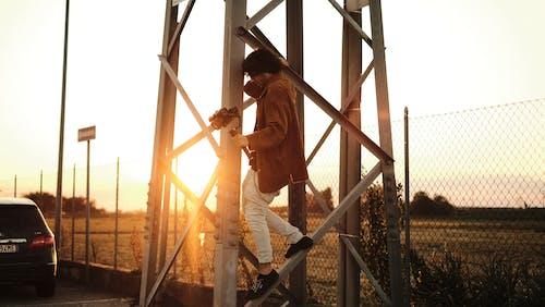 คลังภาพถ่ายฟรี ของ กลางแจ้ง, กั้นรั้ว, คน, คนงานก่อสร้าง
