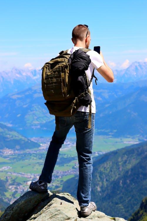 Gratis stockfoto met avontuur, backpack, backpacker