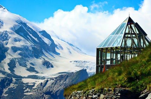 Gratis stockfoto met alpine uitzicht, bergen, glazen koepel