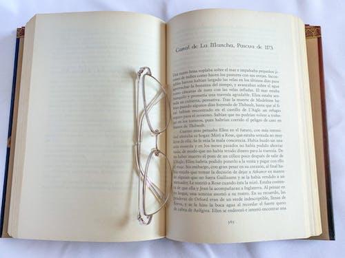 Eyeglasses on a Book