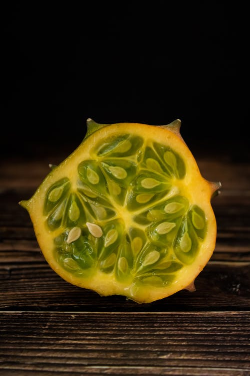 Green and Yellow Sliced Fruit