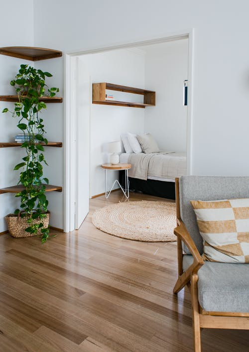 Stylish apartment in minimalistic style