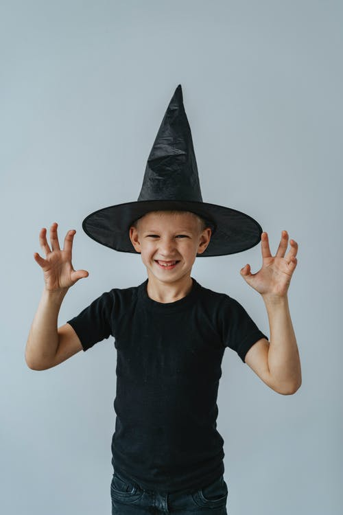 Boy With a Witch Hat
