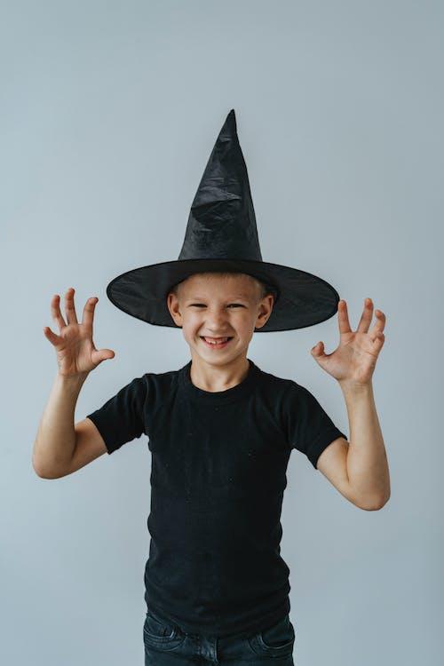 Fotos de stock gratuitas de alegría, bruja, caucásico, chaval