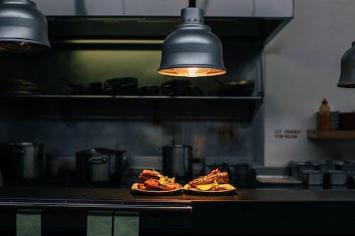 คลังภาพถ่ายฟรี ของ กระทะ, การทำอาหาร, กินได้