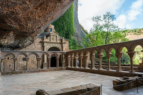 Free stock photo of cloister, historical architecture