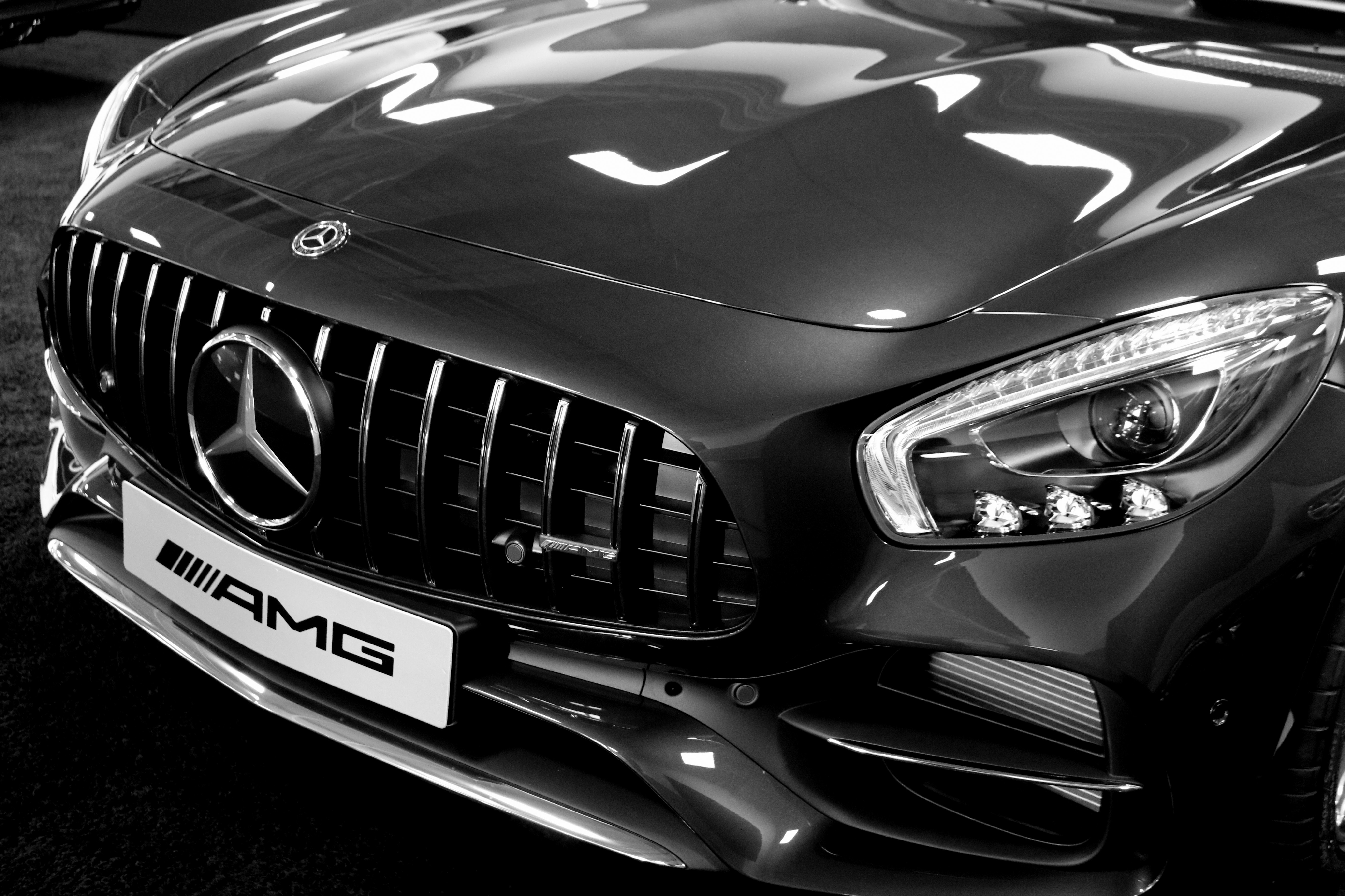 Car Grayscale Photography 183 Free Stock Photo