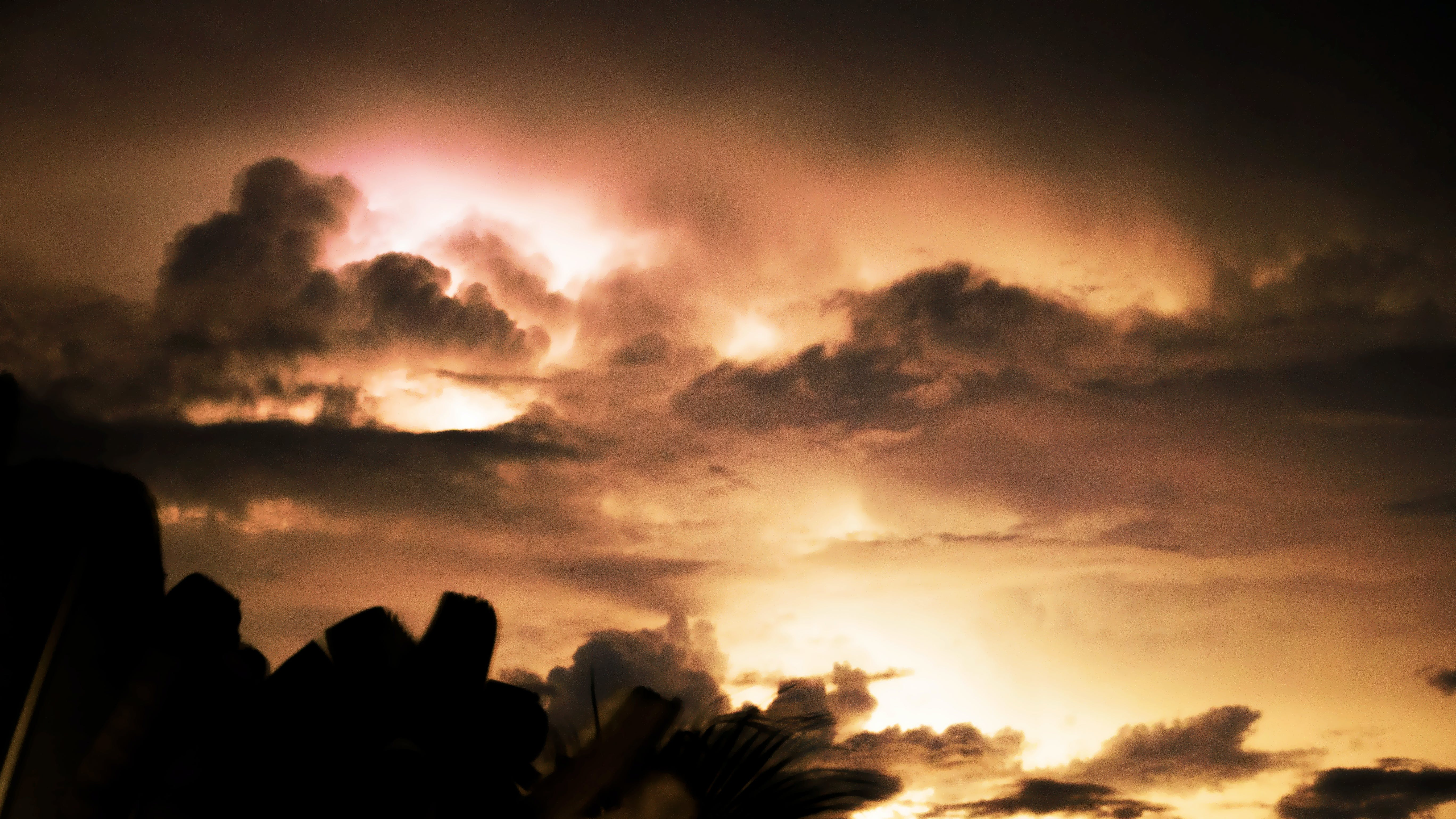 Free stock photo of bad weather, clouds, dark clouds, lightning