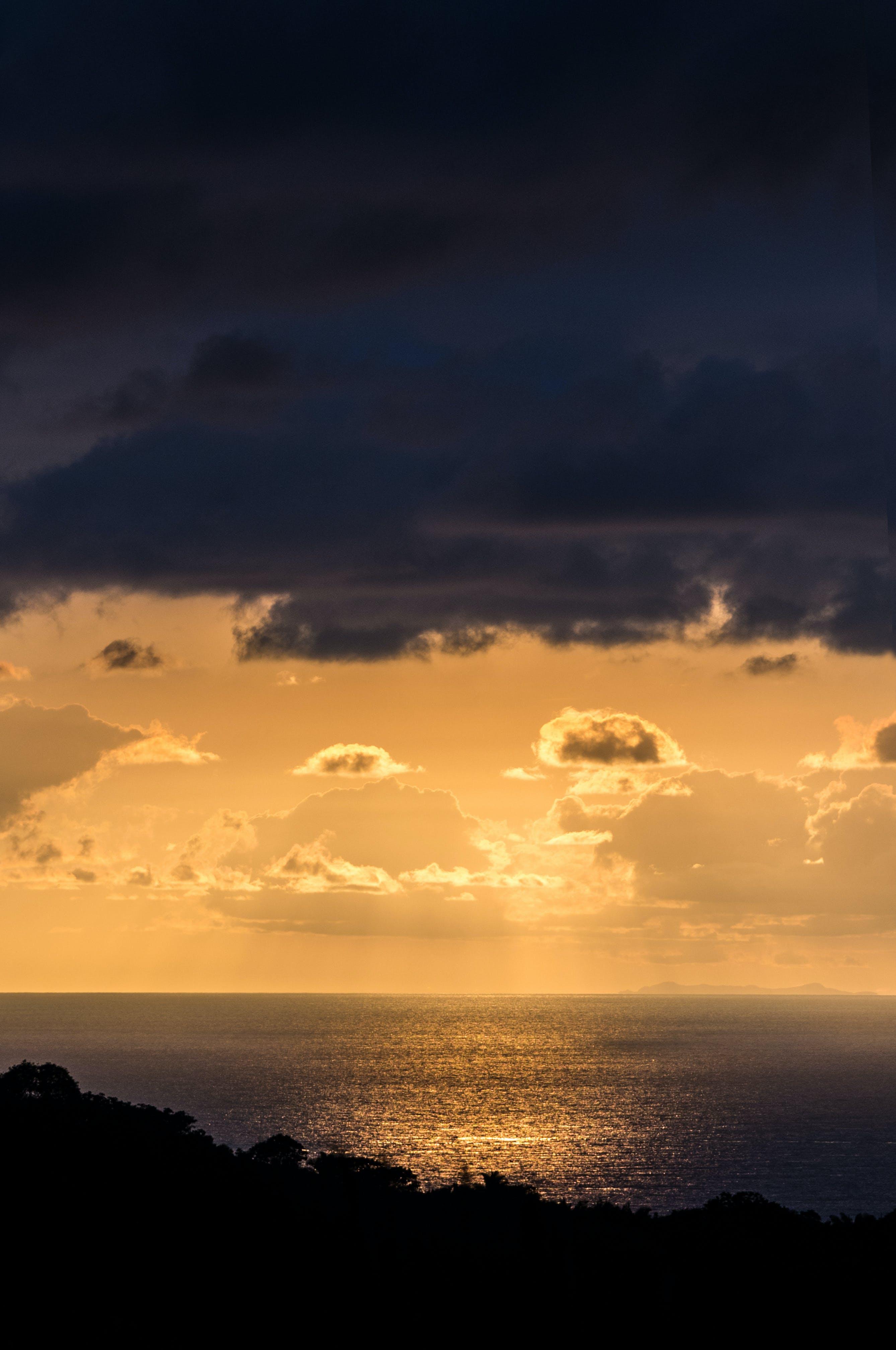 Free stock photo of clouds, dark clouds, deep ocean, deep sea