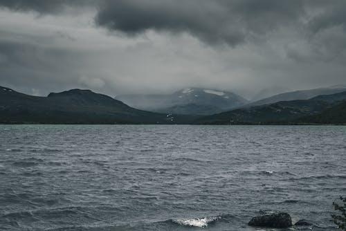 Gray Mountains near the Ocean