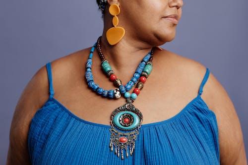 Fotos de stock gratuitas de abalorios, accesorios, collar
