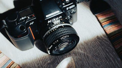 Fotobanka sbezplatnými fotkami na tému analógový, clona, elektronika, film
