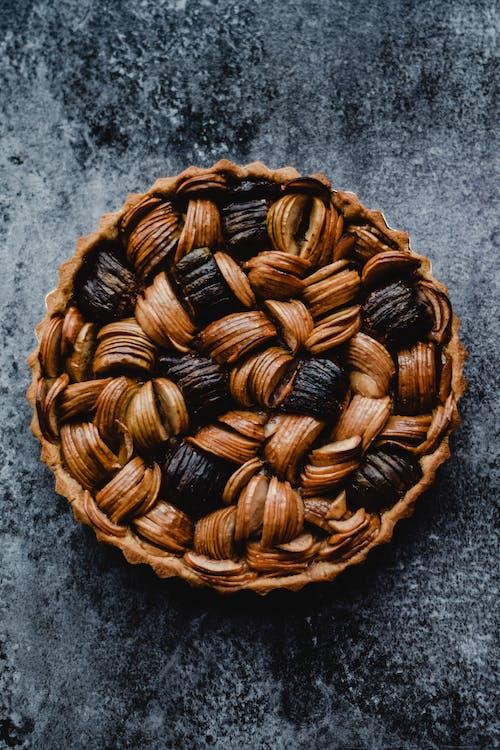 Fotografie bez autorských poplatků na téma domácí pečení, fíkový koláč, jablečný koláč, jídlo