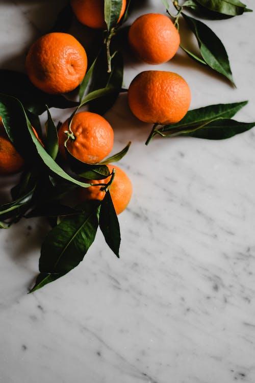A Close-Up Shot of Oranges