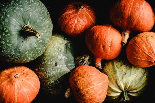 Orange and Green Pumpkins