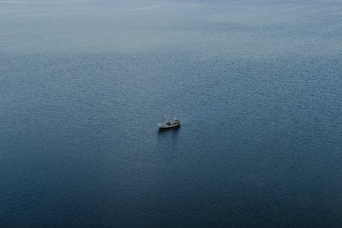 A Boat on the Ocean