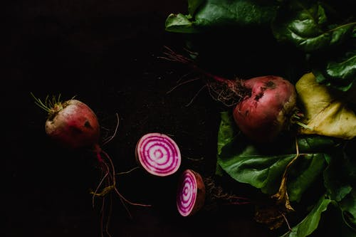 Close-Up Photo of Beetroots