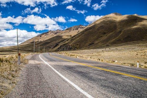 An Asphalt Country Road
