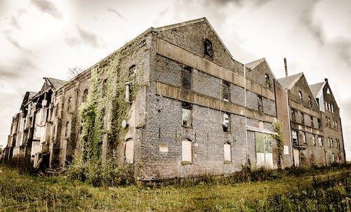 Exterior of a Brown Brick Building