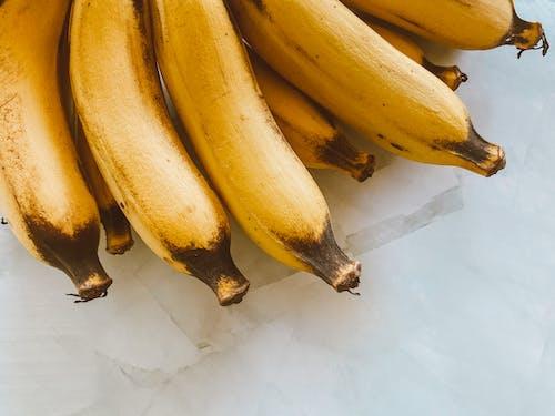 A Close-Up Shot of Bananas