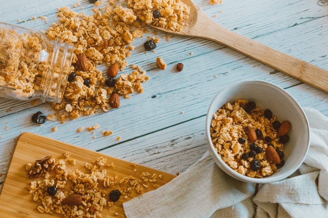 オートミール, お粥, グラノーラの無料の写真素材