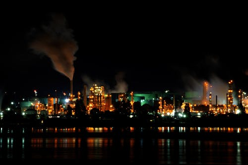 Free stock photo of air pollution, at night, chemical