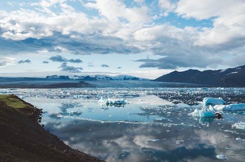 冰山, 冰島, 冰河, 冷 的 免费素材照片