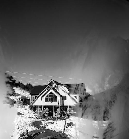 冷, 在山上的房子, 孤独的房子 的 免费素材图片