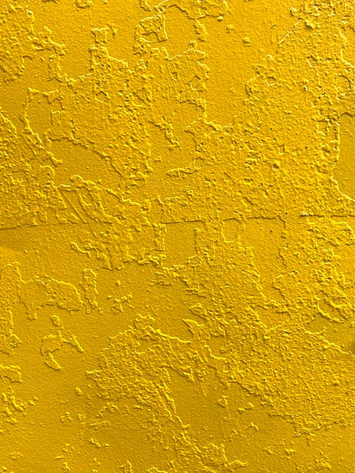 A Yellow Painted Wall