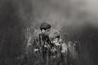 love, people, field