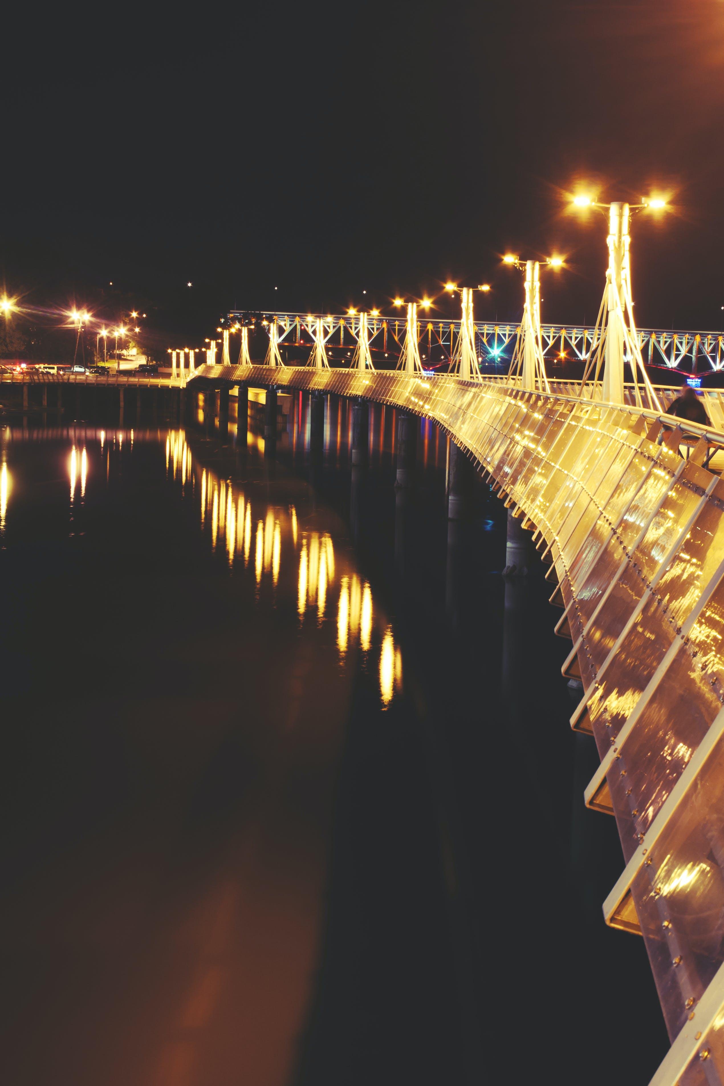 Lights of pier III