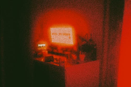 Free stock photo of 35mm, dark, desk