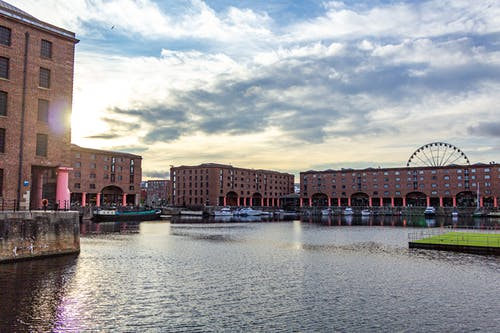Free stock photo of Albert Dock, dawn, Liverpool