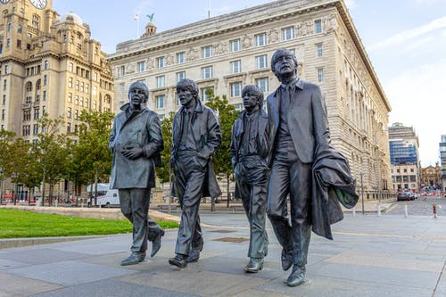 Free stock photo of Beatles, Liverpool, statue