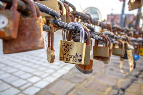 Free stock photo of Albert Dock, Liverpool, lovelock, padlock