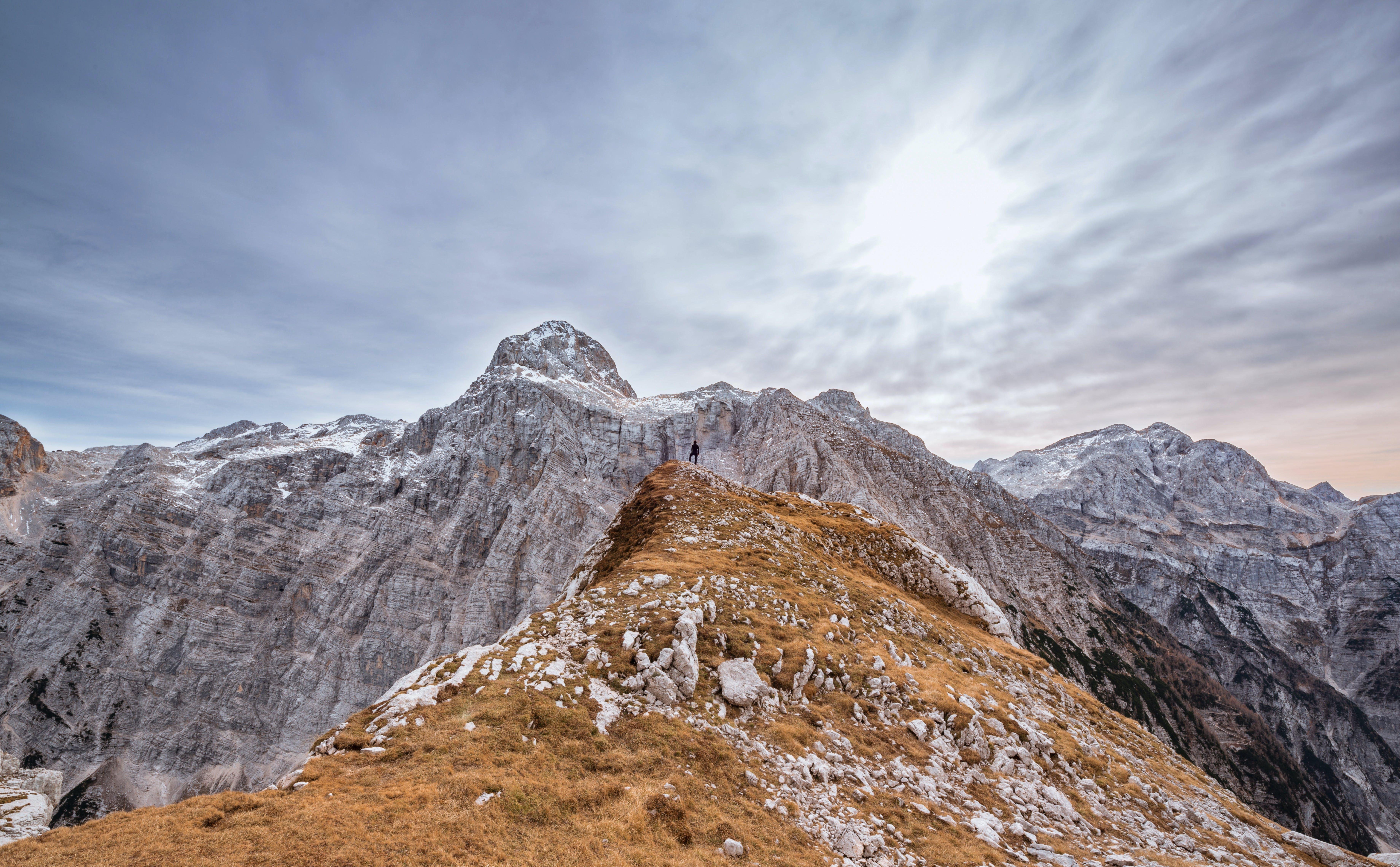 alpen, aussicht, berg