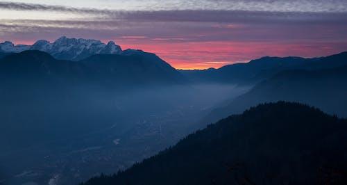 Základová fotografie zdarma na téma hory, idylický, klid, les