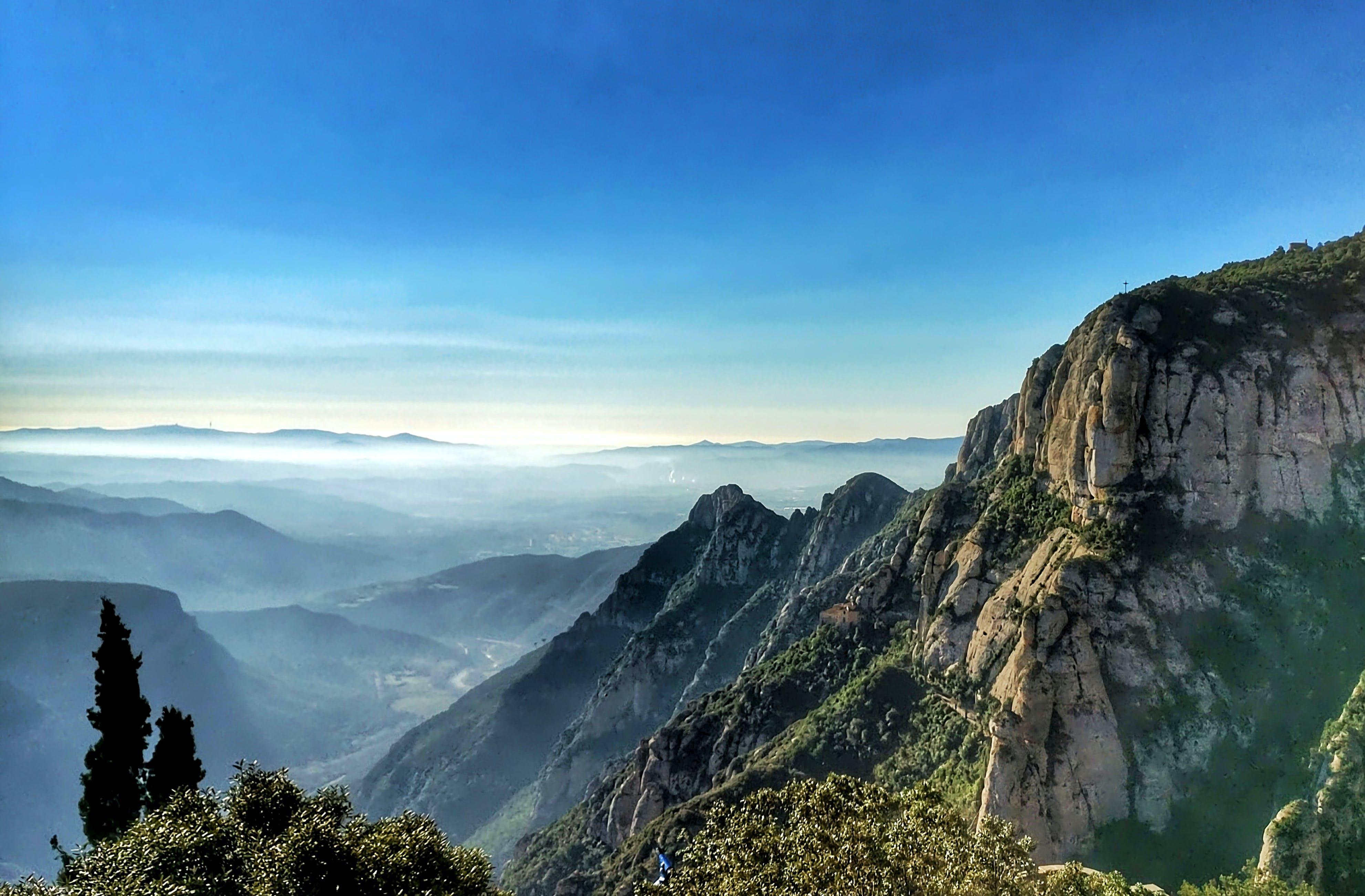 Foto stok gratis alam, awan, gunung, indah