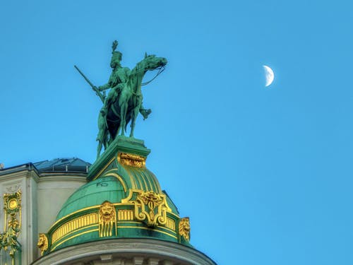 Fotos de stock gratuitas de azul, bóveda, cielo azul, cielo de la tarde