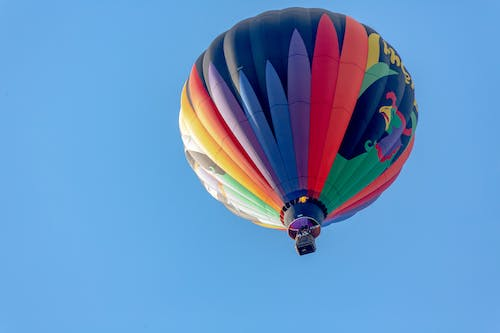 Free stock photo of floating, flying, hot air balloon