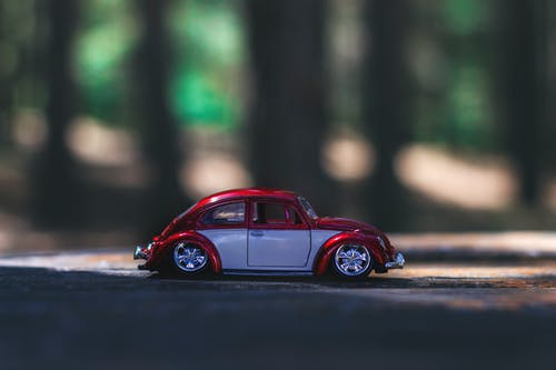 Red and Gray Car Toy