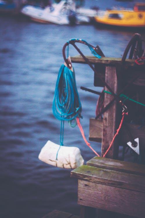 Photos gratuites de bleu, corde, mer