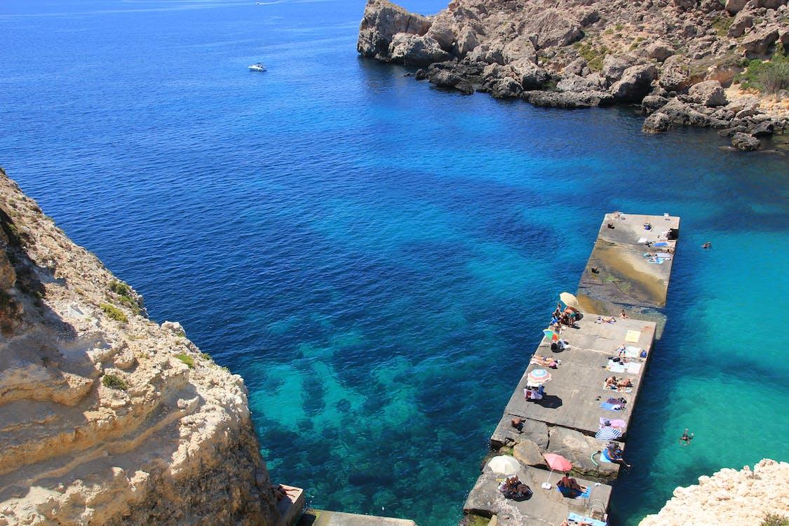 Free stock photo of blau, genießen, Insel