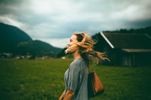 Free stock photo of landscape, nature, fashion, person